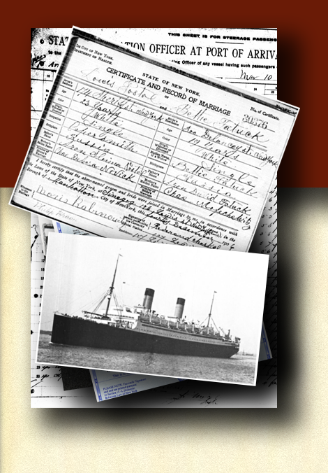 Which ship did your ancestors cane on in to Ellis Island? Jordan Auslander knows where to find their names on the passenger lists and in immigration record archeves